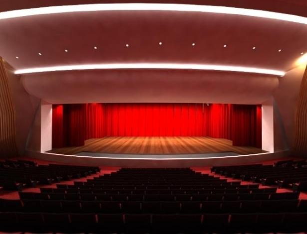 6.dez. 2012 - Projeção panorâmica do Puerto de la Música, projetado para a cidade de Rosário, na Argentina. Obra de Niemeyer não saiu do papel por causa de disputa política