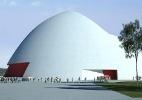 Prevista para 2012, única obra de Niemeyer na Argentina está parada por disputa política - Divulgação/Fundación el Puerto de la Música