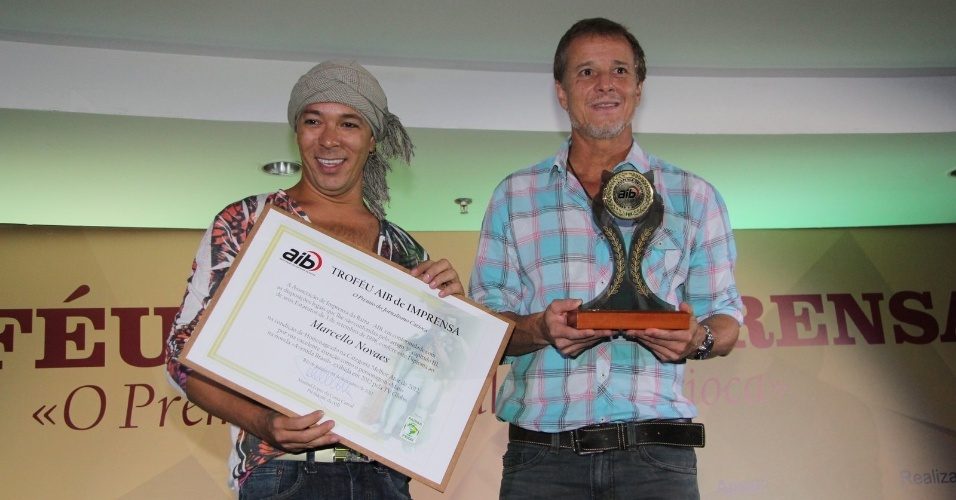 833ead2b0b62a 6.dez.2012 - Marcelo Novaes, recebeu o prêmio AIB de Imprensa por
