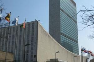 Sede da ONU, em Nova York, projetada por um grupo de arquitetos em 1952, que contou com a participação de Oscar Niemeyer