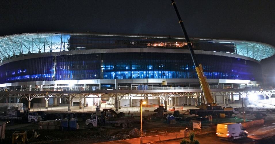 Arena do Grêmio será inaugurada neste sábado, na zona norte de Porto Alegre