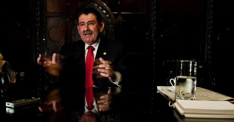 O deputado do PMDB, Paulo Melo, preside a Alerj (Assembleia Legislativa do Estado do Rio de Janeiro)