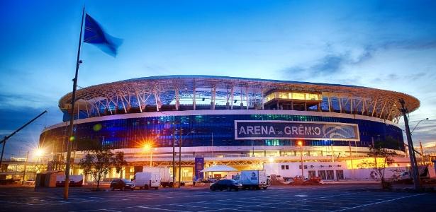 Arena do Grêmio receberá o primeiro jogo oficial na próxima quarta-feira, dia 30