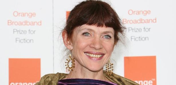 4.jun.2008 - Escritora Nancy Huston participa do evento Orange Broadband Prize for Fiction, em Londres - Getty Images