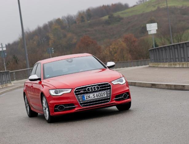 S6 é nossa aposta dentro da trinca da Audi: dirigibilidade e visual na medida certa - Stefan Sauer/Divulgação
