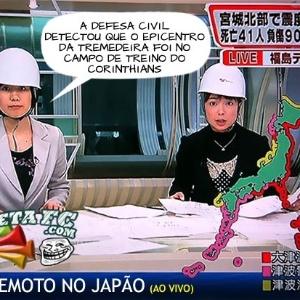 Corneta FC: Invasão corintiana faz o Japão tremer