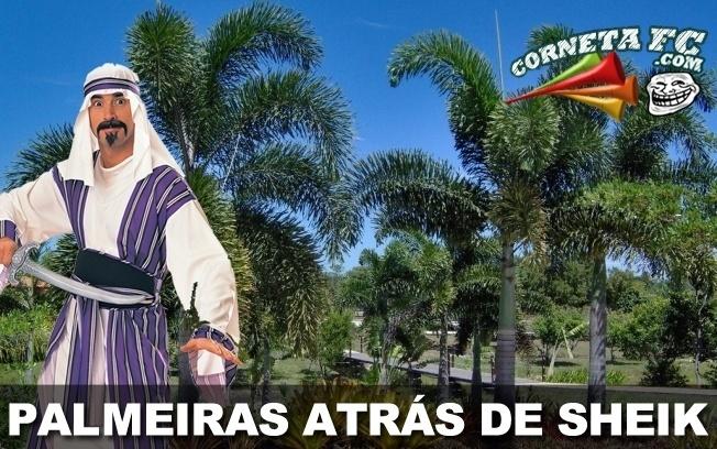 De olho em 2013, Palmeiras está atrás de Sheik