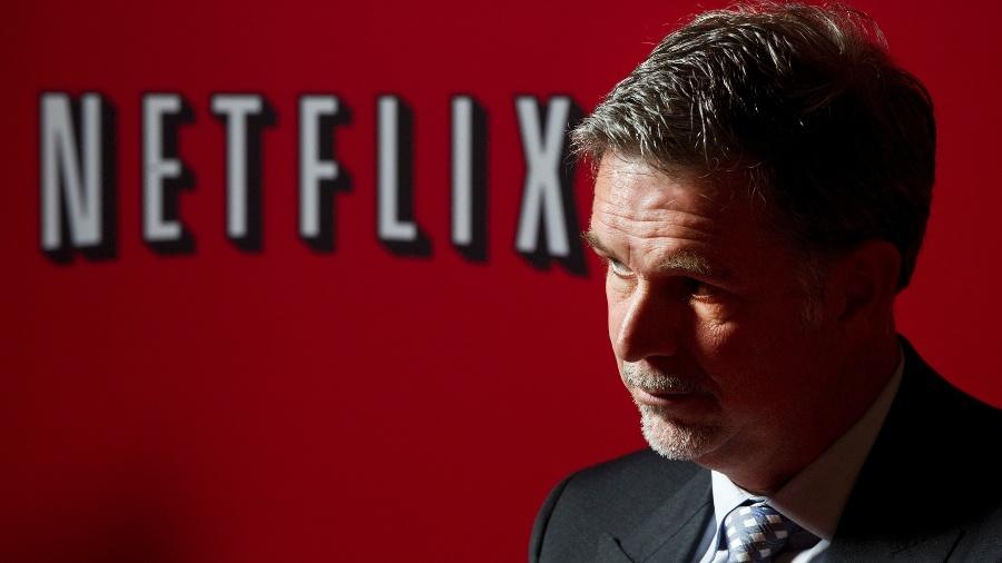 Entrevista com empresário americano Reed Hastings, fundador e diretor-executivo do Netflix - Eduardo Knapp/Folhapress