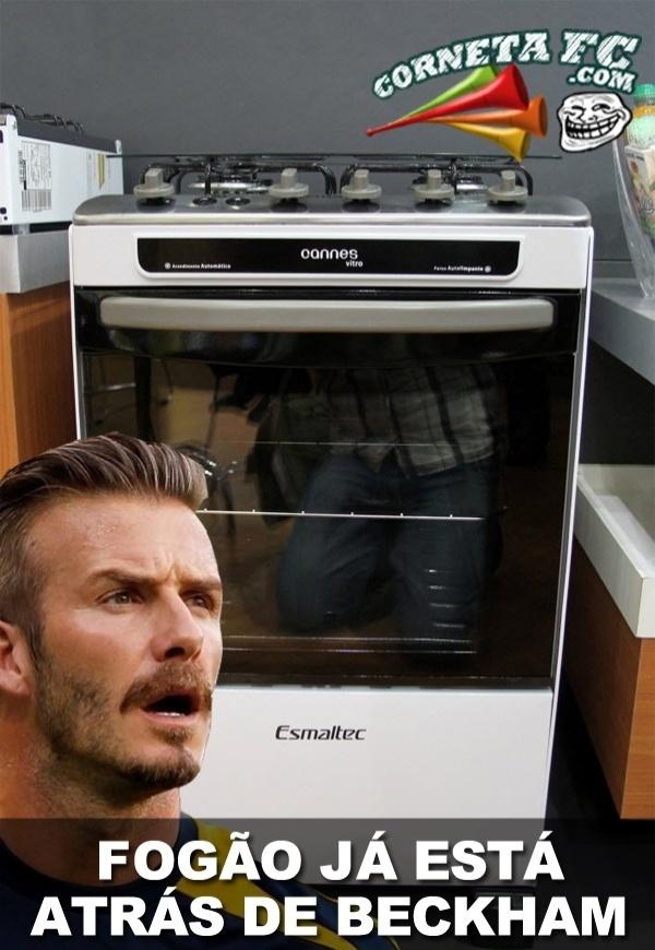 Fogão já está atrás de Beckham