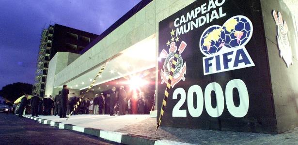 Sede do Corinthians, no Parque São Jorge, o mais importante bem físico do clube