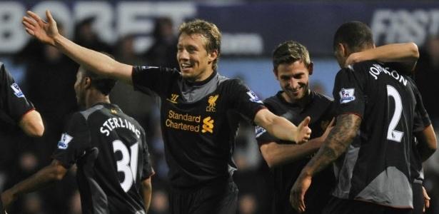 Lucas Leiva poderá deixar o Liverpool rumo ao Galatasaray