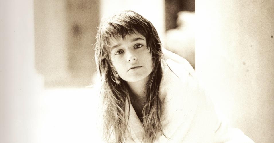A atriz aos 15 anos, quando se tornou paquita