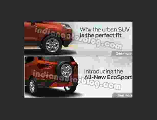 Ford EcoSport india - Reprodução