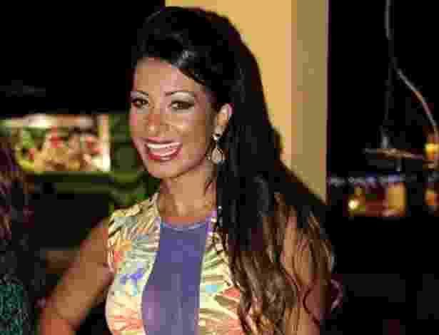 11.dez.2012 - Cinthia Santos na coletiva de lançamento do CD e revista da liga das Escolas de Samba de São Paulo - Léo Franco/AgNews