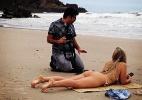 Ex-BBB Renata Dávila publica foto de ensaio fotográfico na praia - Reprodução/Instagram
