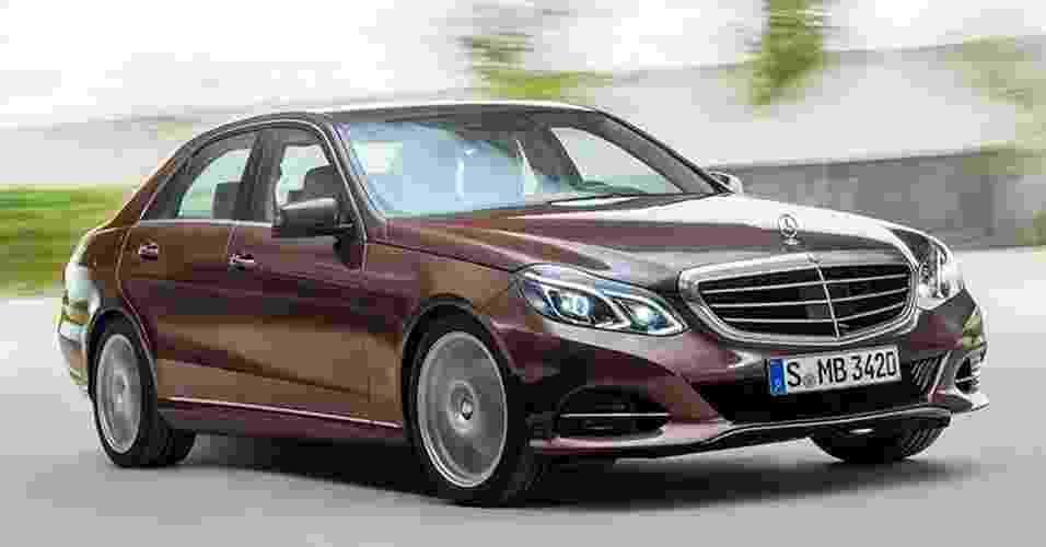 Mercedes-Benz Classe E 2013 - Divulgação