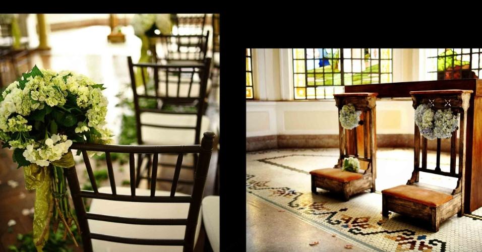 Cerimônia de casamento celebreada no Palácio dos Cedros (www.palaciodoscedros.com.br)