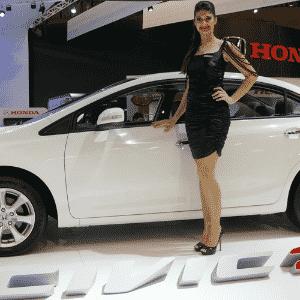 Honda Civic 2.0 foi revelado no Salão do Automóvel de São Paulo, em outubro - Eugênio Augusto Brito/UOL