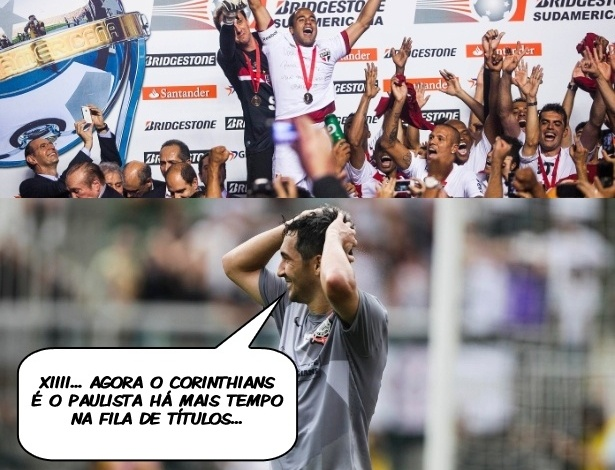 Corneta FC: Com título do São Paulo, Corinthians é o paulista há mais tempo na fila