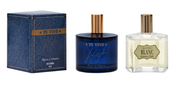 Perfumes de Luan Santana e Sabrina Sato chegam este mês às lojas em todo o país - Divulgação