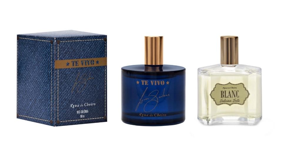 perfume Sabrina Sato e Luan Santana Água de Cheiro