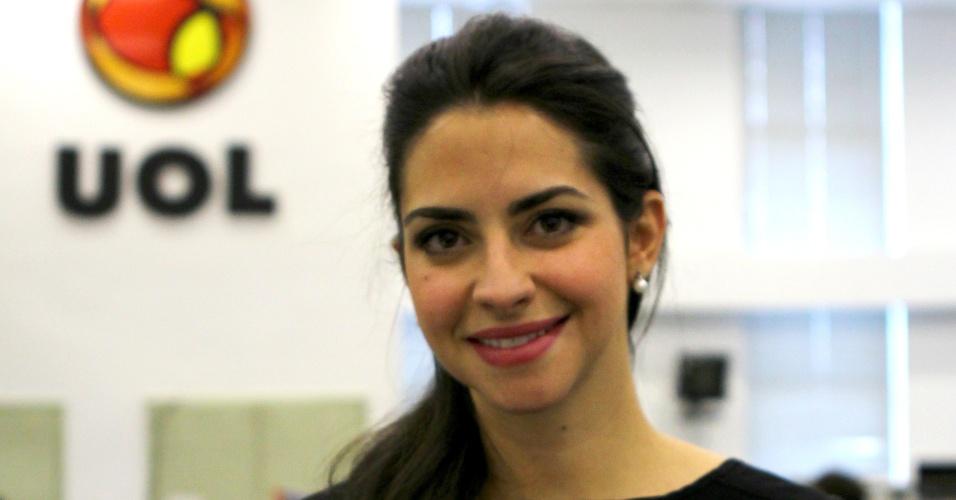 14.dez.2012 - Fernanda Carneiro