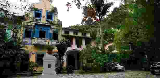 O Largo do Boticário, tombado como Patrimônio Cultural do Rio de Janeiro, está localizado na rua Cosme Velho - Daryan Dornelles/Folhapress