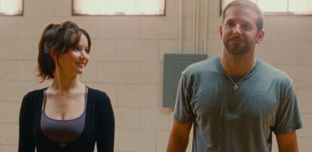 """Jennifer Lawrence e Bradley Cooper em cena de """"O Lado Bom da Vida"""" - Divulgação"""