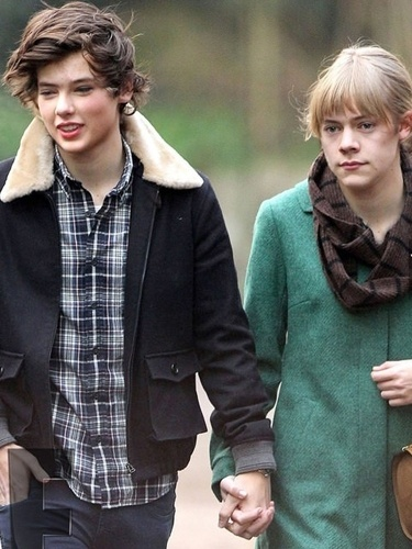 Montagem no Photoshop troca rostos de Taylor Swift e Harry Styles