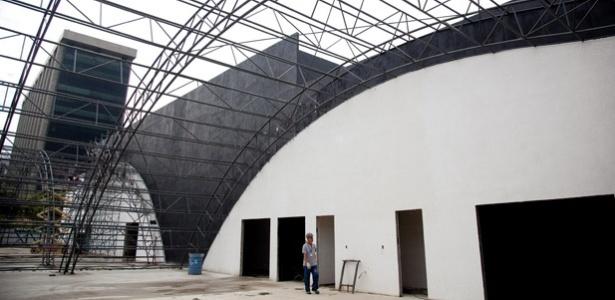 Pavilhão Olímpico do Rio já está em construção; inauguração ficou para 2014