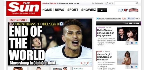 e72ce23eab Jornal inglês anuncia título do Corinthians como  fim do mundo ...