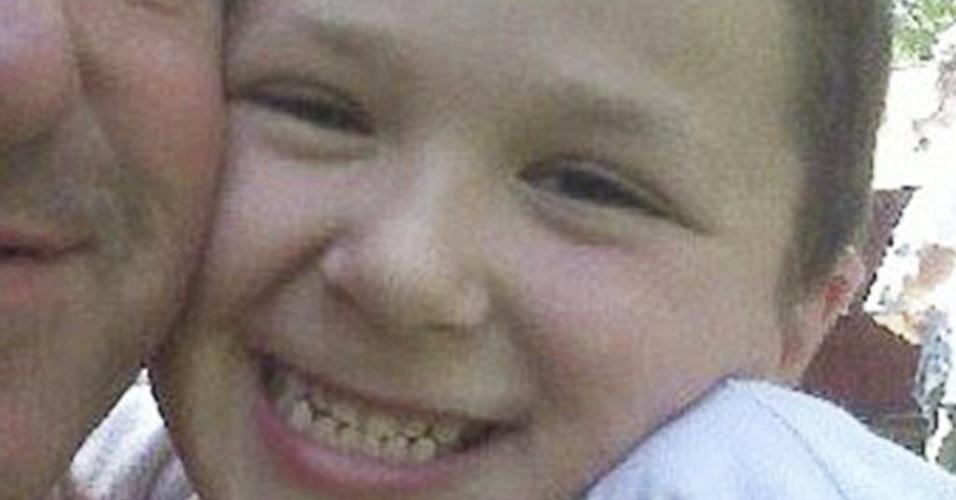 16.dez.2012 - Foto retirada da rede social Facebook mostra o menino Jesse Lewis, vítima do massacre em Newtown