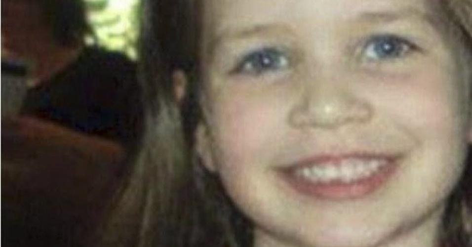 16.dez.2012 - Foto retirada de página do Facebook mostra Jessica Rekos, mais uma vítima dos tiros na escola primária de Newtown