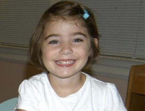 16.dez.2012 - Foto sem data mostra a menina Caroline Previdi, um das 20 crianças mortos na massacre de Newtown