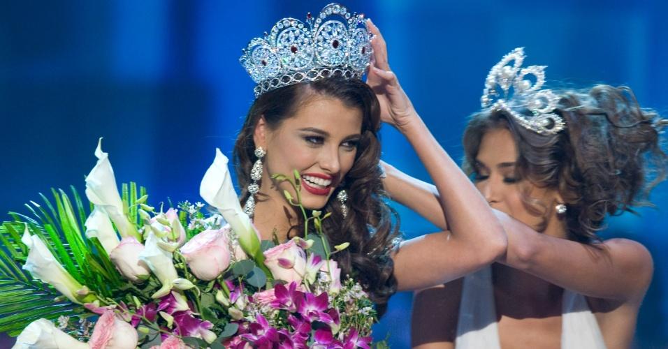 A venezuelana Stefania Fernandez venceu o Miss Universo 2009, realizado nas Bahamas