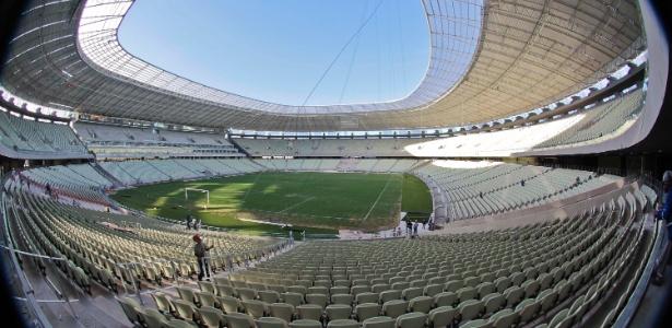 Arena Castelão: primeiro estádio da Copa de 2014 a ser entregue saiu por 33% a mais do que o previsto