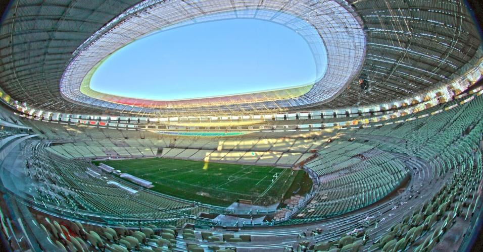 Nova Arena Castelão será entregue neste domingo em evento que contará com a presença da presidente Dilma Rousseff