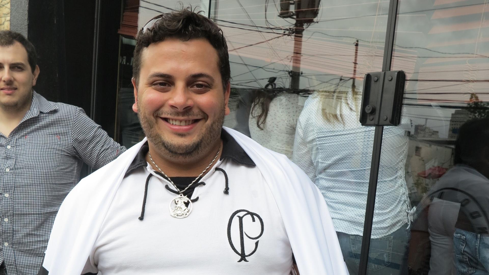 O empresário Marco Antonio Oliveira Francisco: