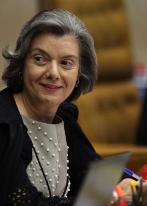 A ministra do Supremo Tribunal Federal Cármen Lúcia  - Antônio Araújo/UOL