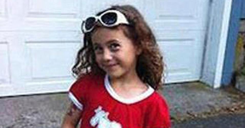17.dez.2012 - Foto do facebook mostra Avielle Richman, uma das vítimas de Adam Lanza, 20, atirador que matou 26 pessoas, a maioria crianças, na escola primária Sandy Hook, em Newtown, Connecticut (EUA), na sexta-feira (14)