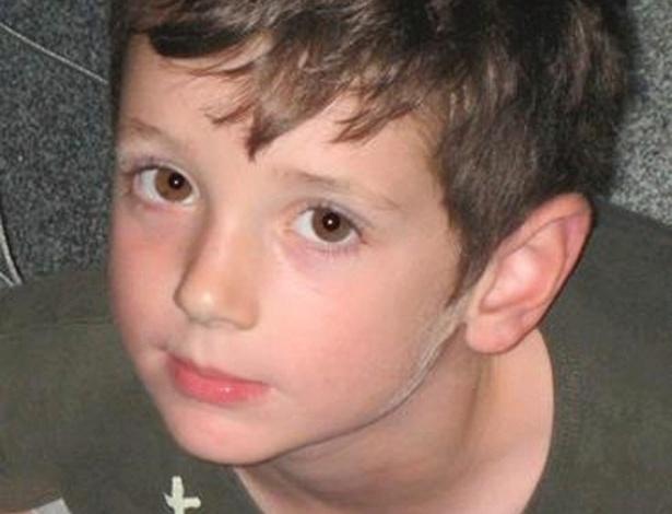 17.dez.2012 - Foto do Facebook mostra o pequeno Benjamin Wheeler, uma das crianças mortas no massacre da escola primária Sandy Hook, em Newtown, Connecticut (EUA), na sexta-feira (14)