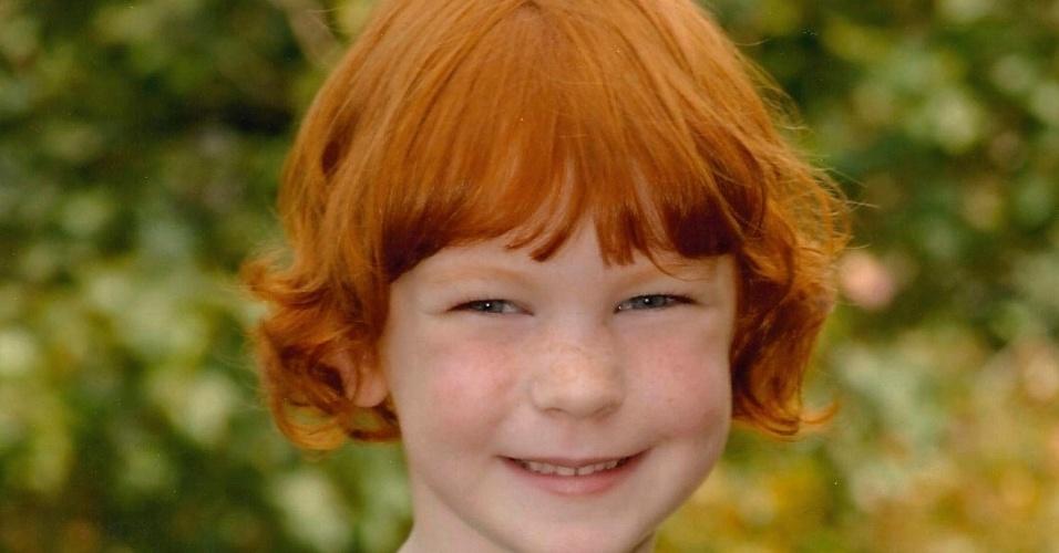 17.dez.2012 - Uma foto do Facebook mostra Catherine Hubbard, uma das 20 crianças assassindas no massacre da Escola Primária Sandy Hook