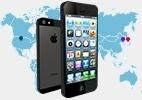 Peças do iPhone 5 são fabricadas em diversas partes do mundo; saiba onde - Arte/UOL