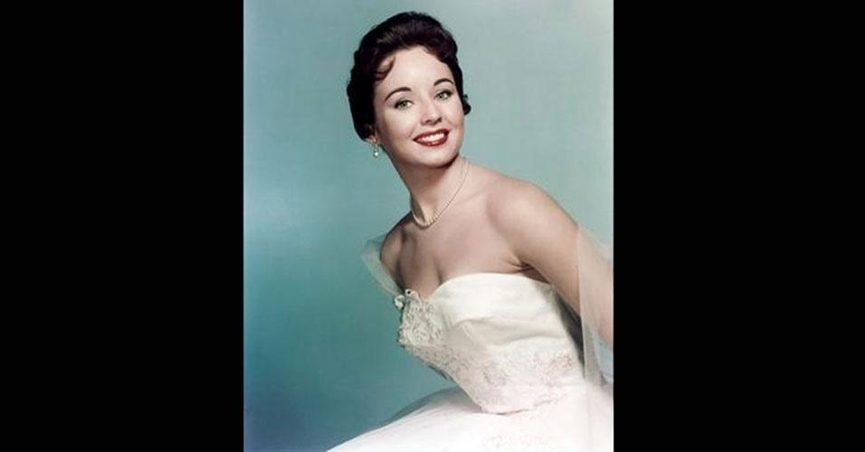 A americana Carol Morris venceu o Miss Universo 1956, realizado na Califórnia, nos EUA