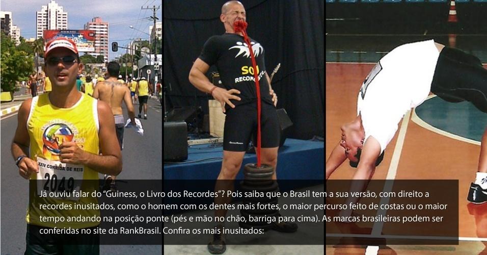 Recordes inusitados do esporte brasileiro - BOL Fotos