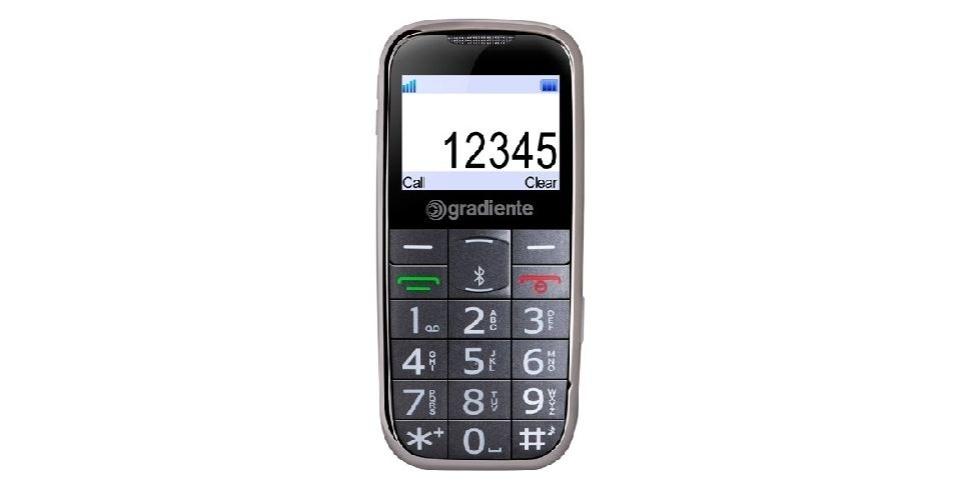 O SafePhone não está entre os celulares mais modernos, mas possui um rastreador e localizador via GPS e uma tecla de S.O.S para as emergências. Com botões e tela grandes, pessoas com baixa visão enxergam com mais facilidade das informações do aparelho. No entanto o GPS não funciona como navegador. Preço sugerido R$ 500