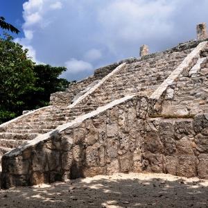 Sítio arqueológico de Quintana Roo, no México - AFP