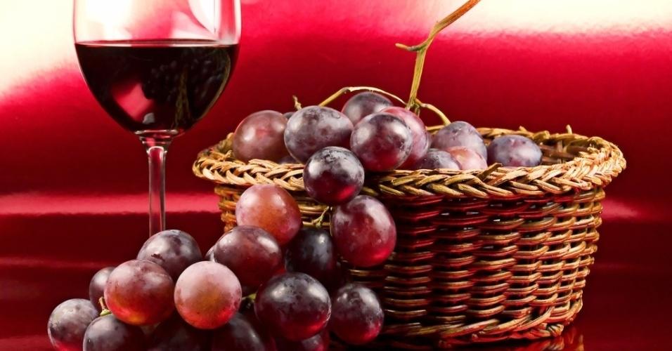 uva, vinho, álcool, resveratrol, uva vermelha