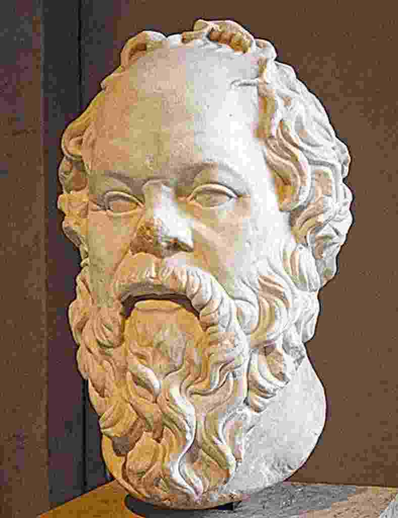 """""""Seja de que maneira for, case-se. Se conseguir uma boa esposa, vai ser feliz; se conseguir uma péssima, vai se tornar um filósofo"""", Sócrates - Reprodução"""