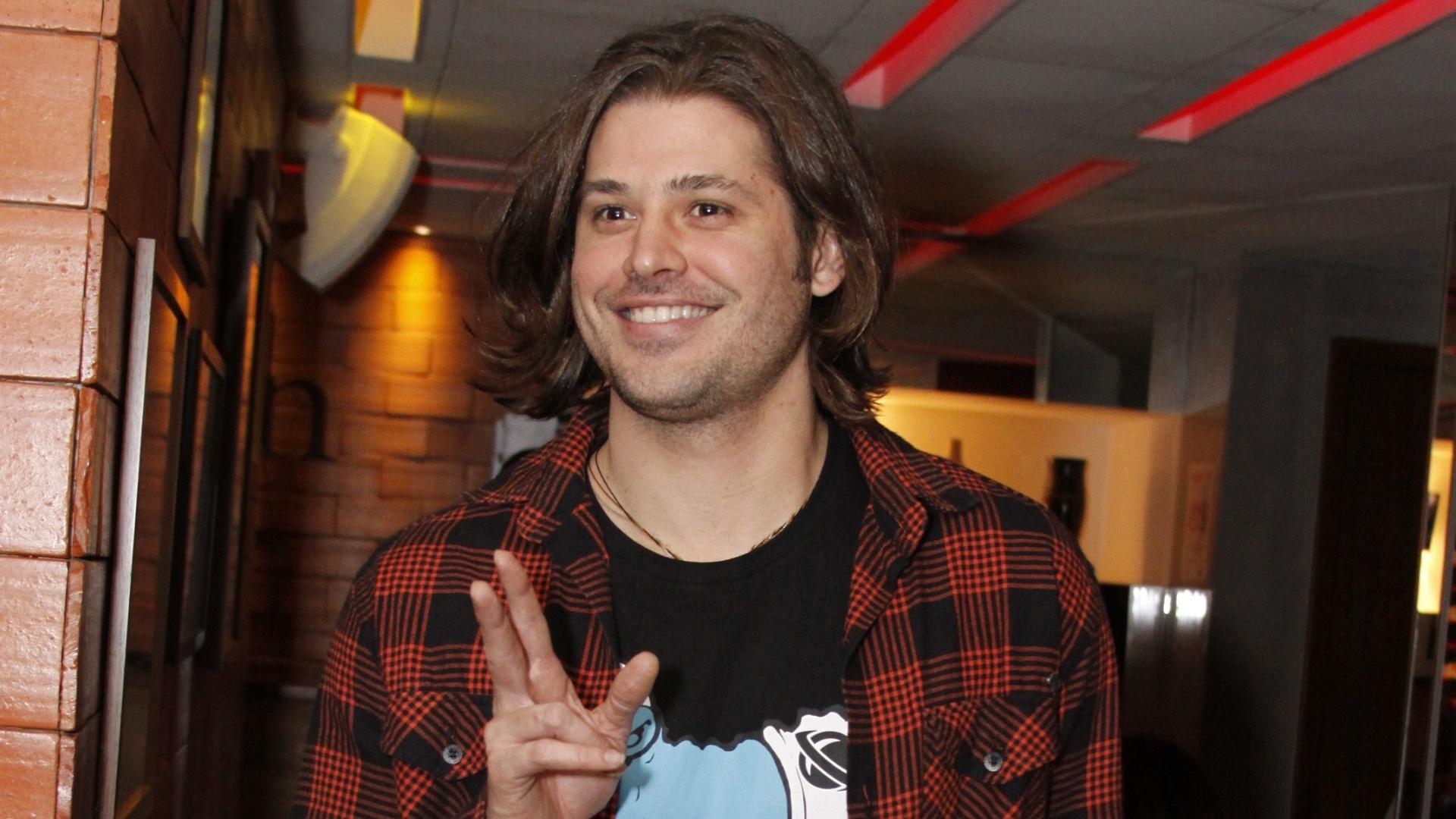 13.ago.2012 - Dado Dolabella na festa Honda Experience Night no Rio de Janeiro
